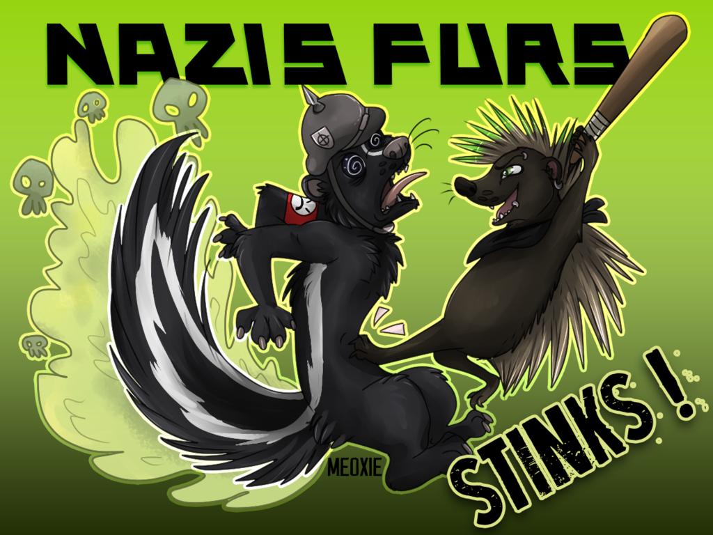.: Nazis Furs STINKS !