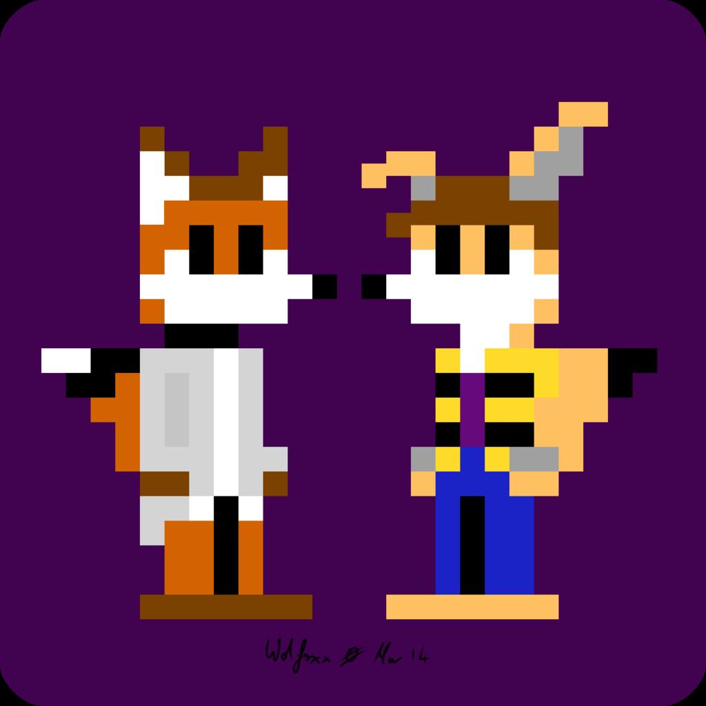Alek & Dodge Pixel Art