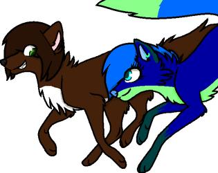 Riley and Blu