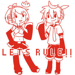 Kagamines Rule the World [new tumblr rp/ask blog]