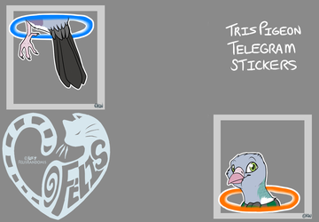 TrisPigeon Telegram Stickers