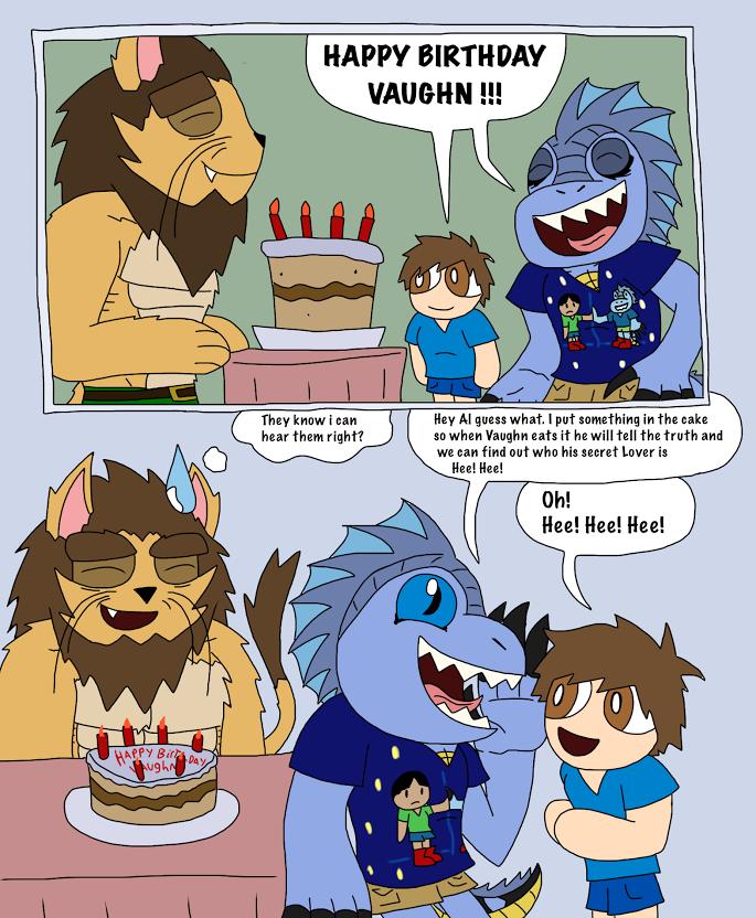Happy Birthday Comic to SaturnBoy