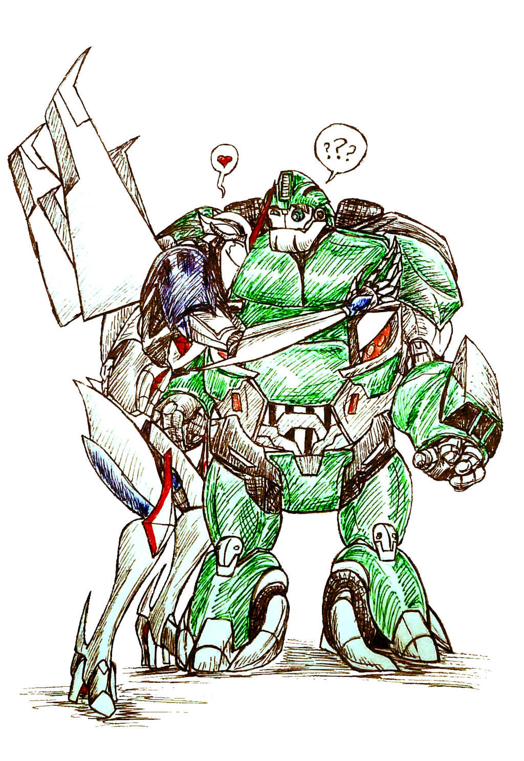 Seriously Though What'd You Put In That Energon.