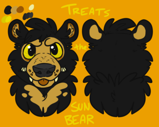 BEARSQUAD: Treats the Sun Bear