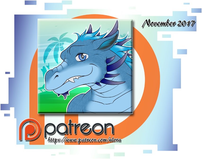 Most recent image: Patreon Icons - November 2017