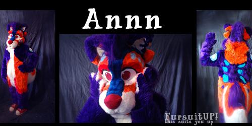 Annn fursuit