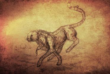 Sketch Commission Cheeta