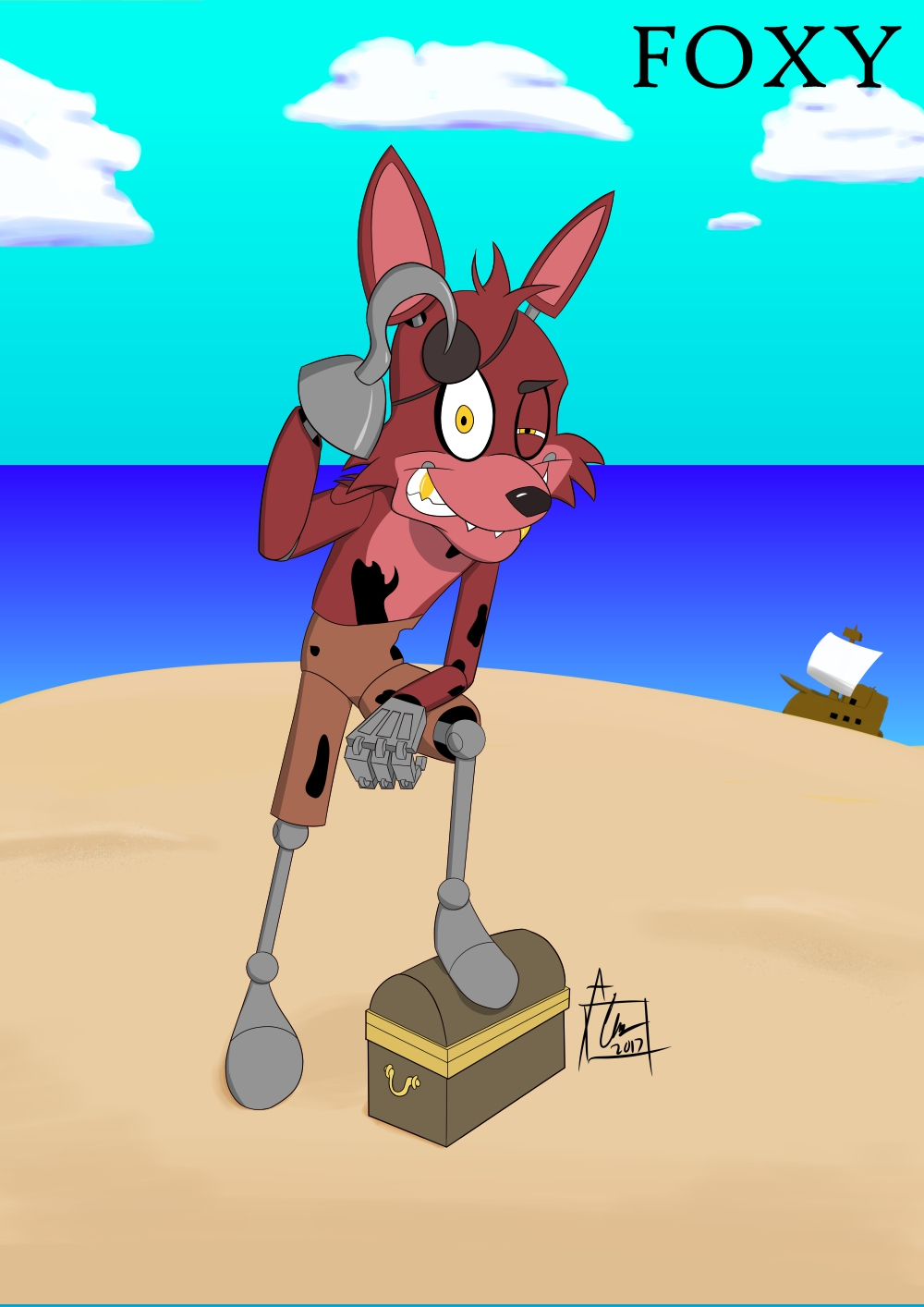 Five Nights at Freddy's - Foxy the Pirate