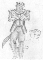 [Old Art] Sir Kain by Alan Dye