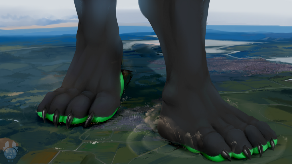 [C] Thick Green Stomps