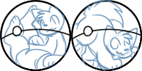 Trapped in a pokeball icon commissions! OPEN
