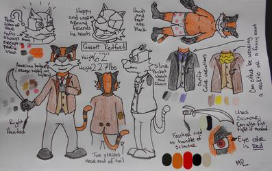 Garett Reference Sheet