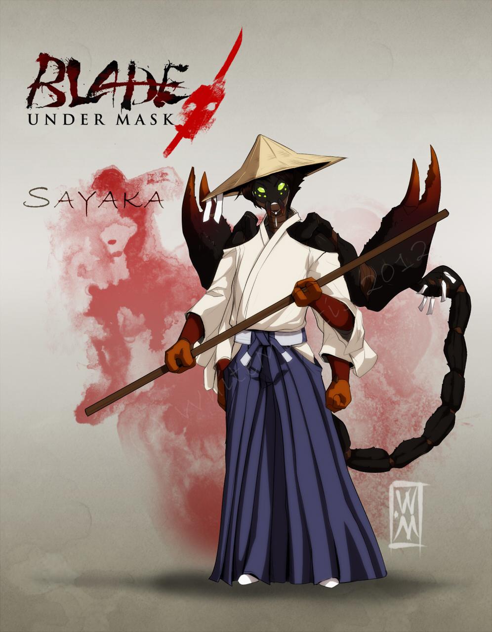 Blade Under Mask: Sayaka