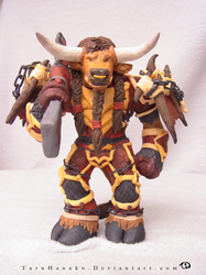 Tauren sculpture