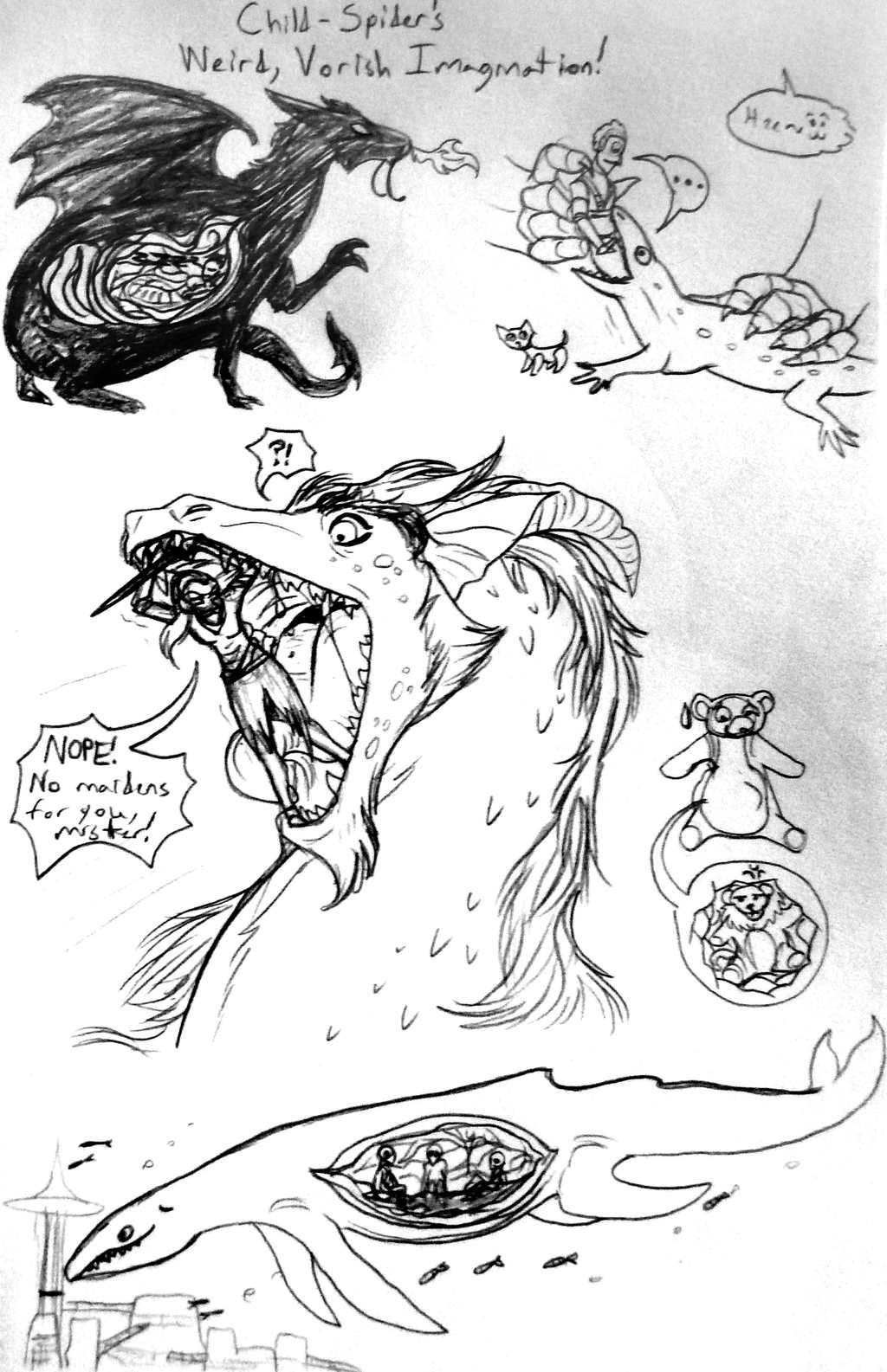 Childhood Vorish Imaginings (Illustrated)