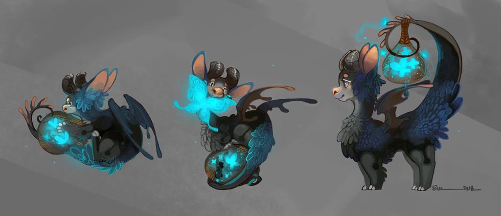 Lantern Dragon: Butterfly