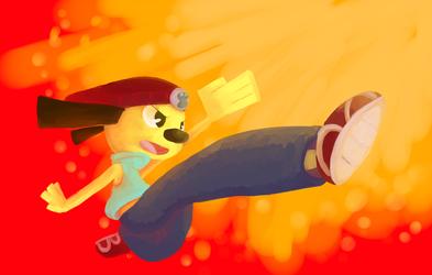 Jump Kick Chop!