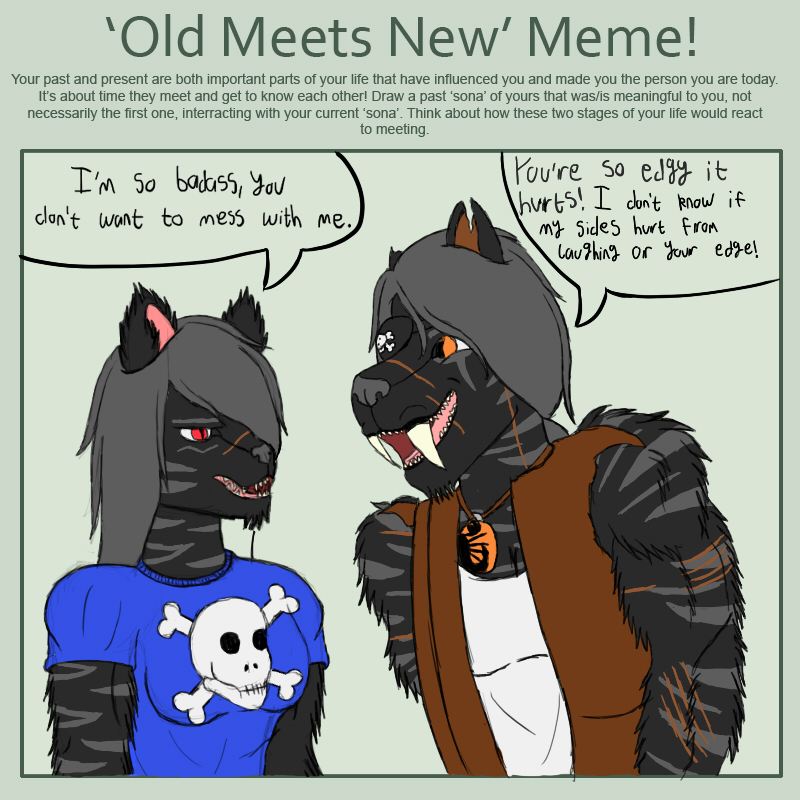 Xeno Old Meets New Meme