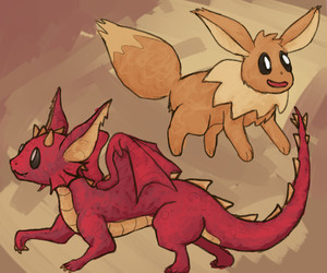 drakeon: dragon type eeveelution