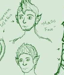 Gemsona: Emerald- Sketches