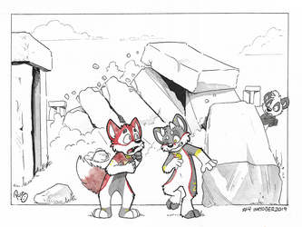 #Inktober2019 WorldTour Day 4: Stonehenge