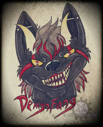 Gift- DemynFang Badge