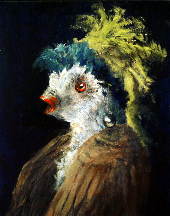 The Bird with a Pearl Earring