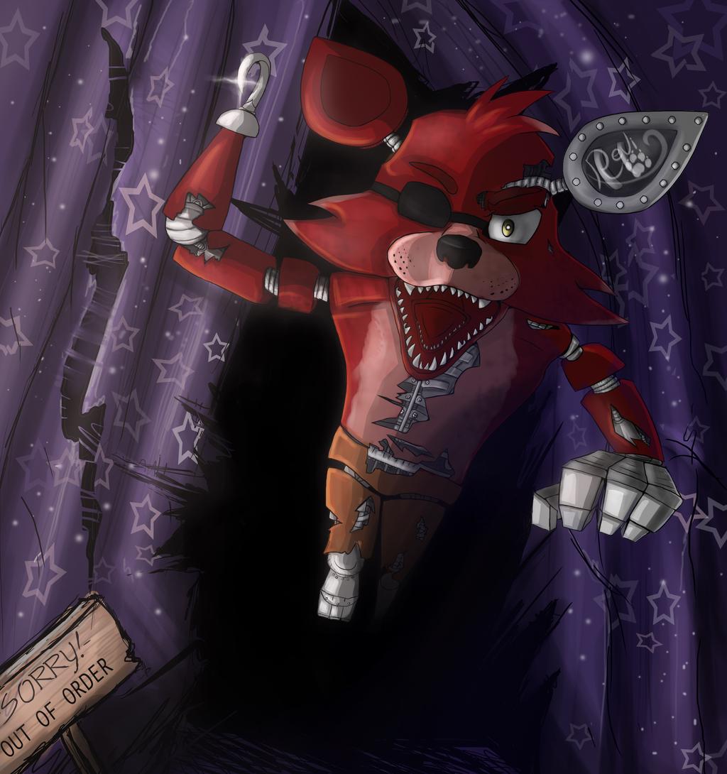 Foxy the pirate fox weasyl
