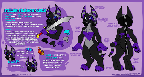 Surah - Reference Sheet (Commission)