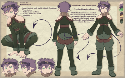 Sin Reference Sheet