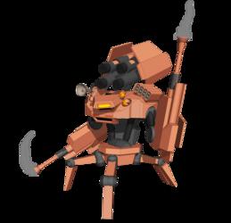 The D'Astan Enforcer- WD-4D