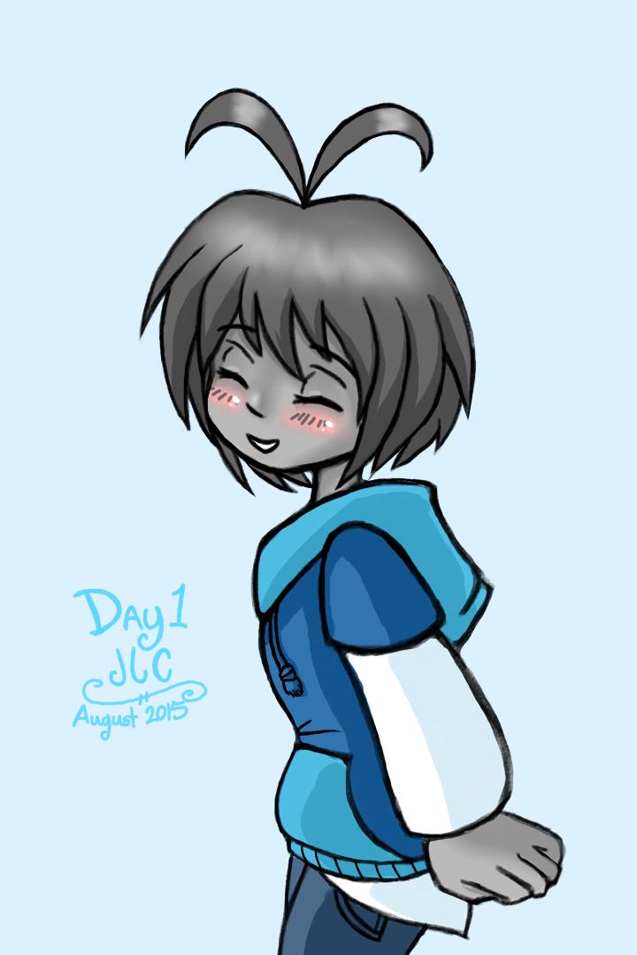 OC Art R2 1 - Junior Blushing