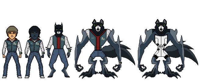 Tardis55 benwolf transformation