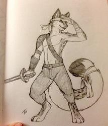 Sketch: Odin