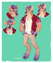 Plaid Deer [comm]