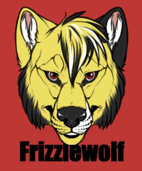 Head-badge - Frizzlewolf