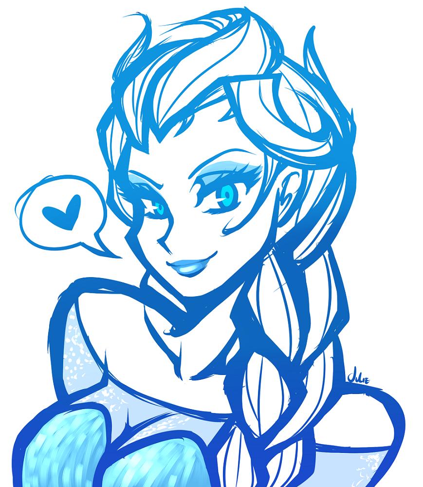 Elsa sketchie