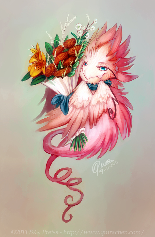 Here, flowers for you!