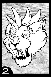 Winged Felines Coloring Book: Page 2