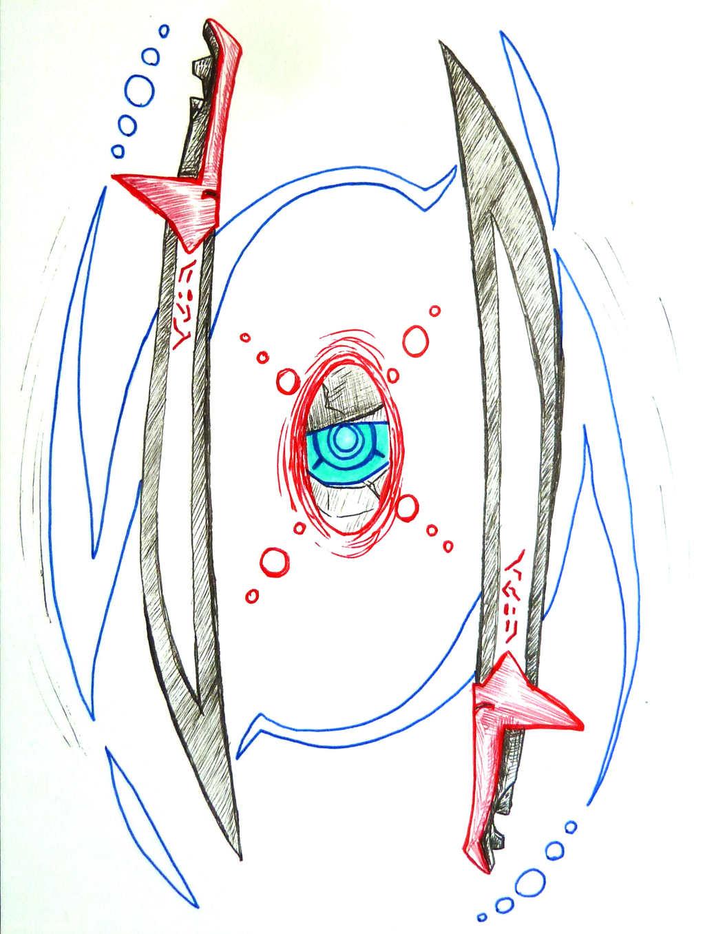 Inktober--Swords