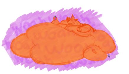 Purple Whumpa's are Fattening
