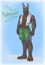 Pool Party Nasus