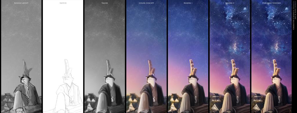 Under the Stars - Progression