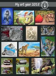 My art year 2015