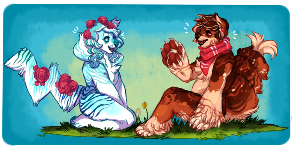 Hanging out (2016 Artfight)