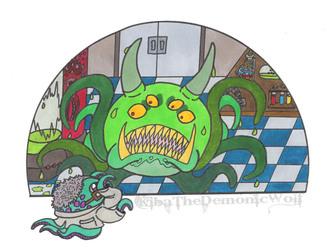 Halloween 13 - Octopus October 7