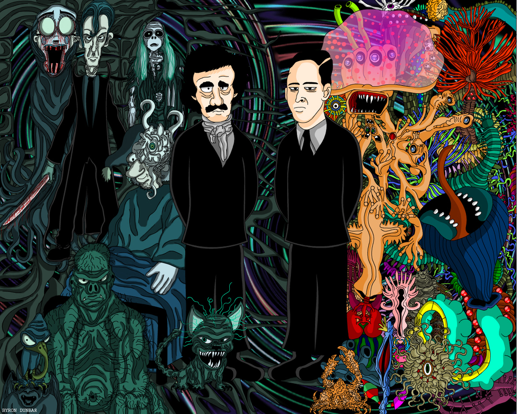 Lovecraft and Poe