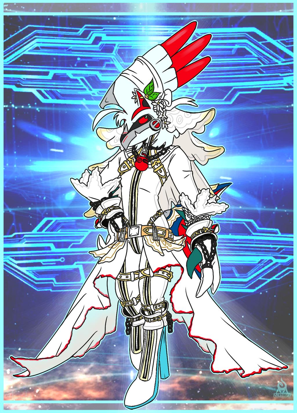 [Commish] Nero as Nero...Bride
