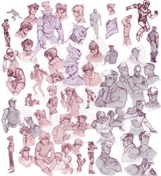 Summer Sketchbook: Voltron