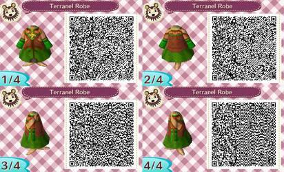 Terranel Robe QR Code For Animal Crossing New Leaf
